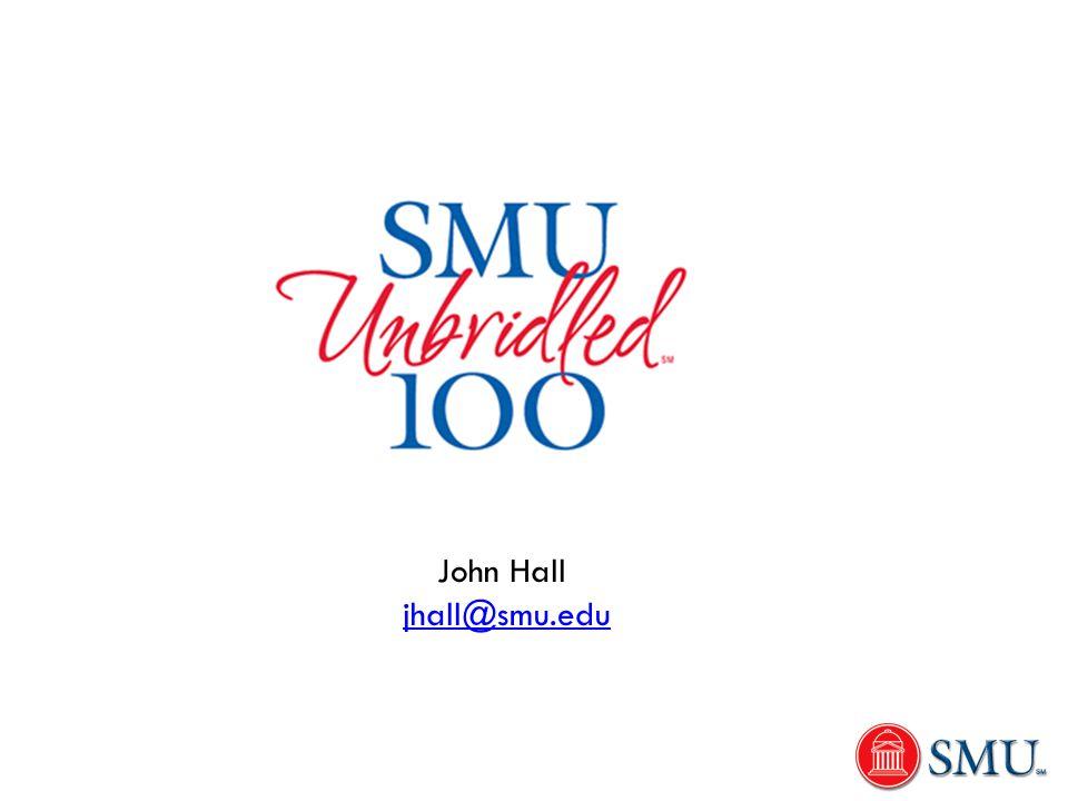 John Hall jhall@smu.edu