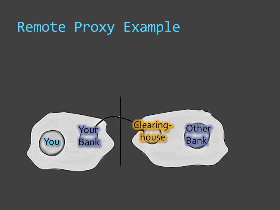 Remote Proxy Example