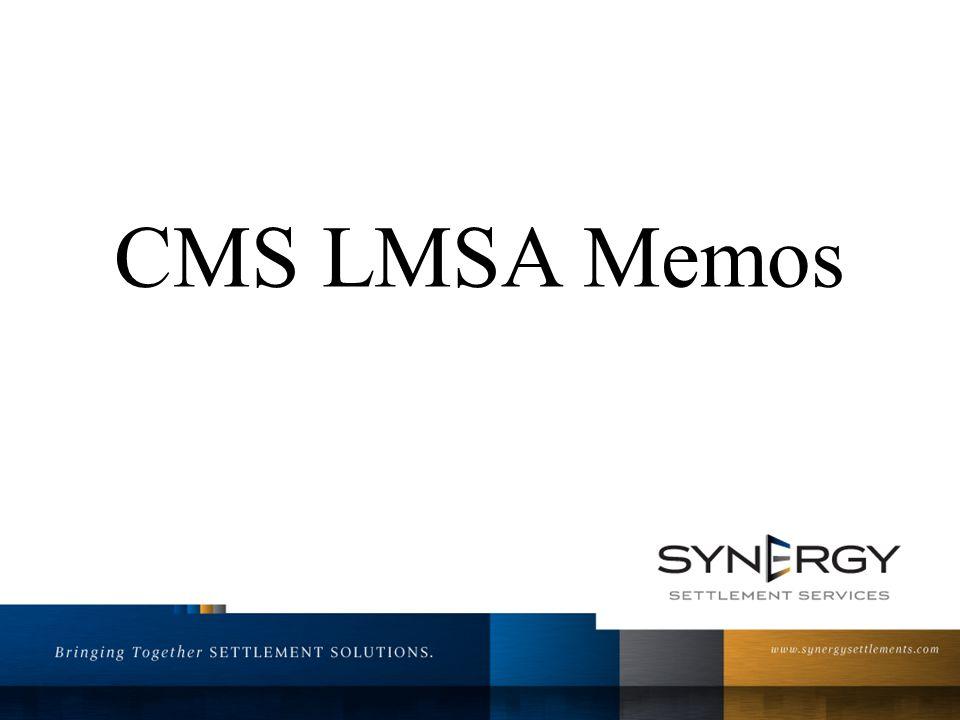 CMS LMSA Memos