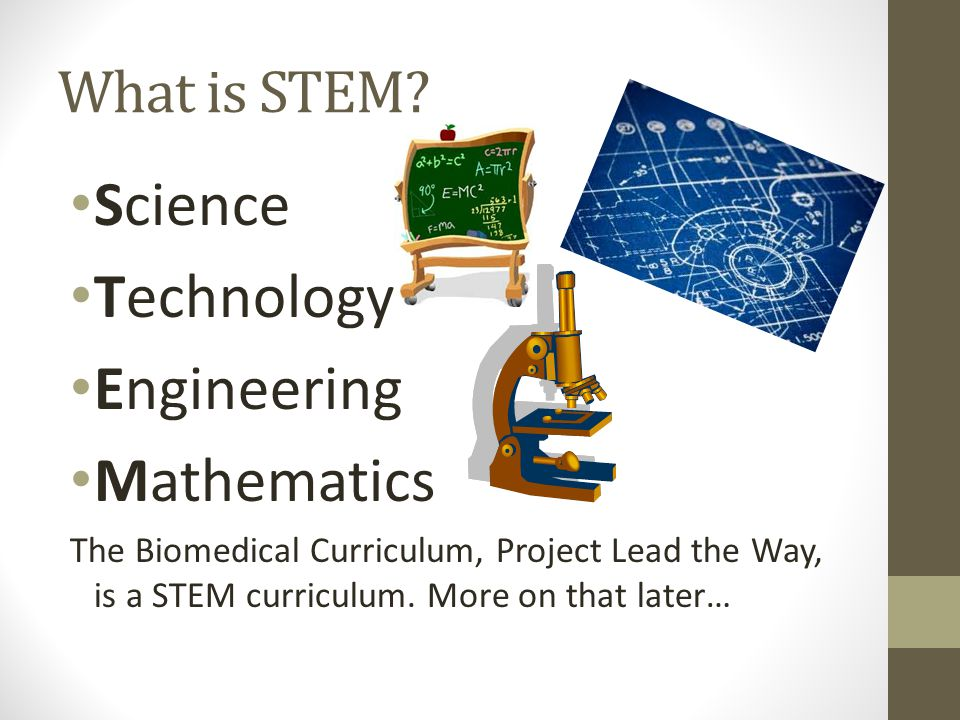 What is STEM.