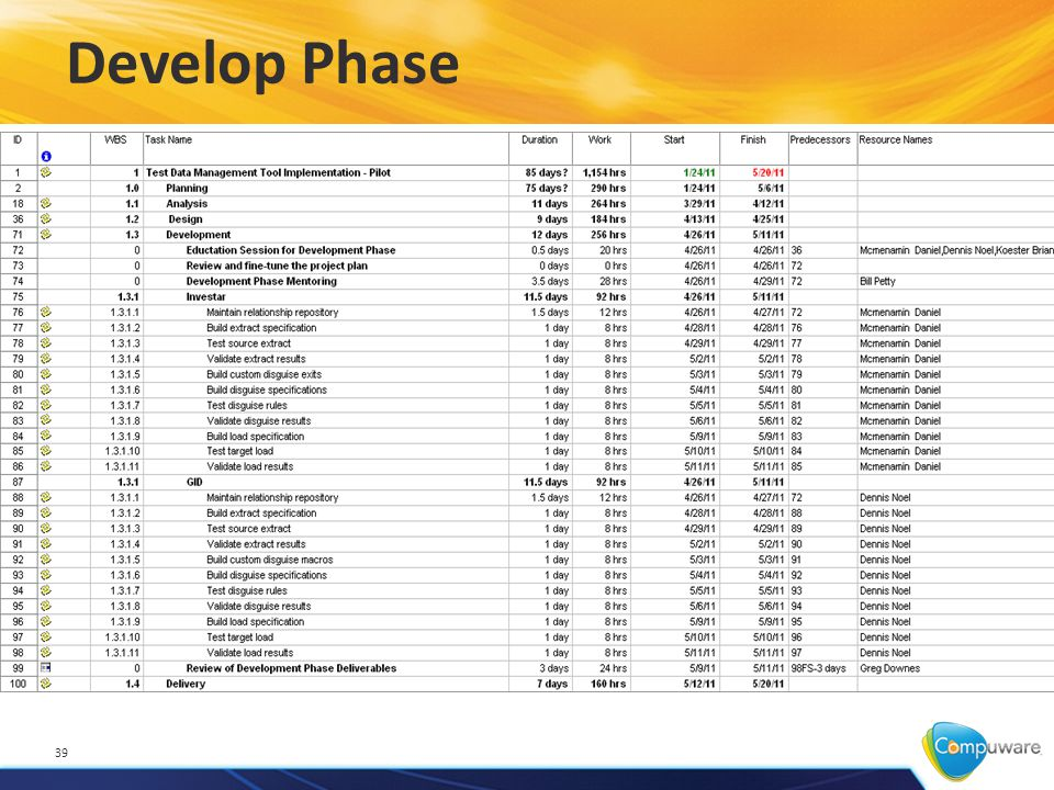 Develop Phase 39
