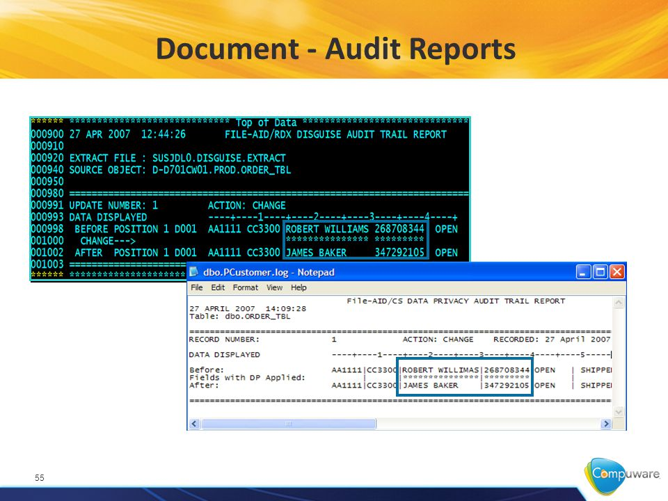 Document - Audit Reports 55