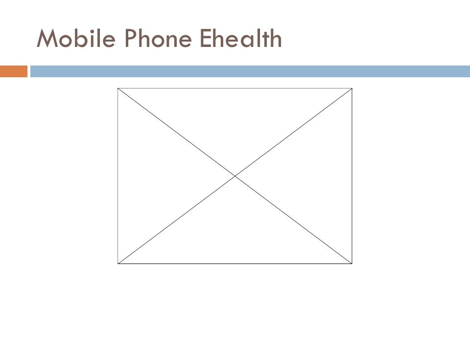 Mobile Phone Ehealth