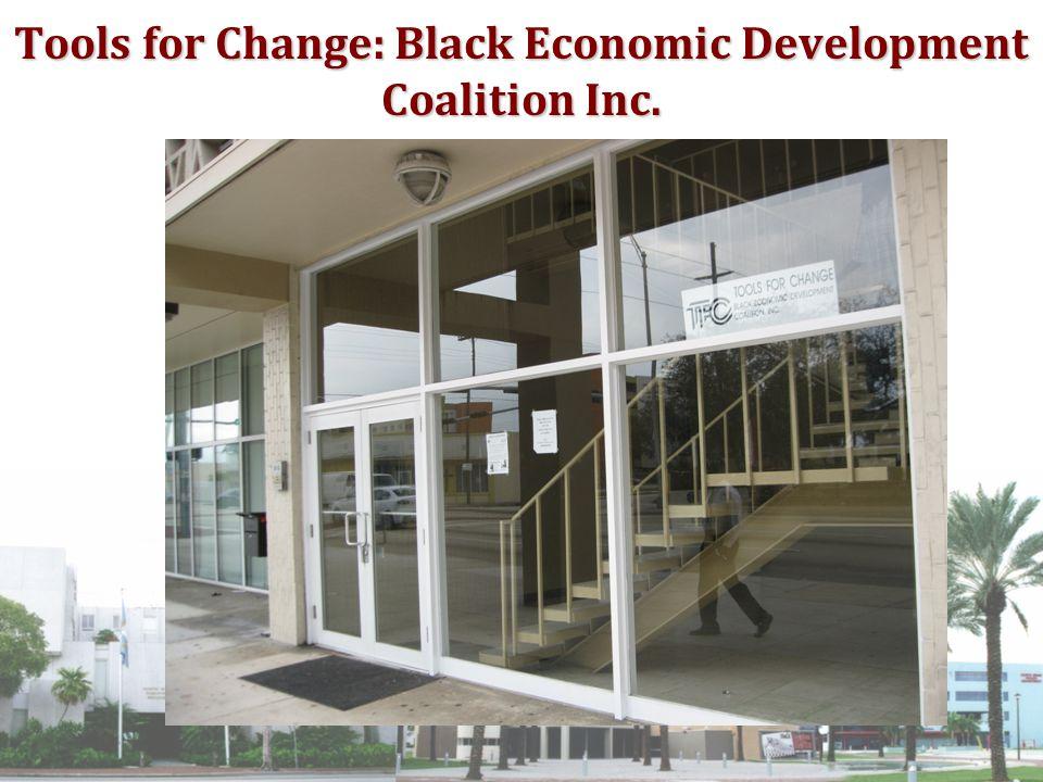 Tools for Change: Black Economic Development Coalition Inc.