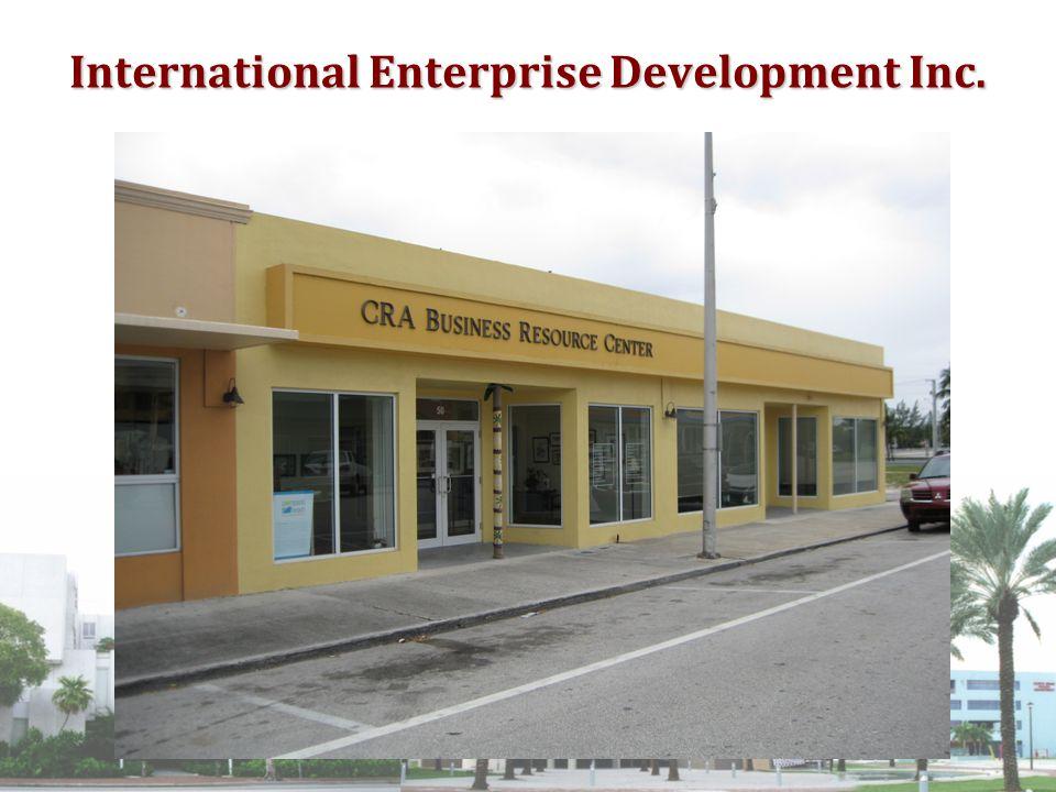 International Enterprise Development Inc.