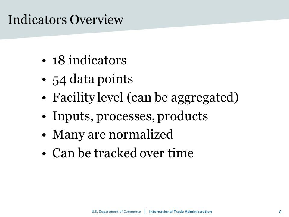 Relationship With Other Metrics Sets 9 Product | process | facility | corporation | sector | country | global Measurement unit Technical Detail High Medium Low LCA GRI MFA IPCC PRTRs EMAS EF OECD Toolkit