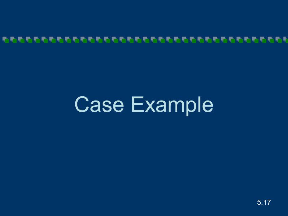 5.17 Case Example