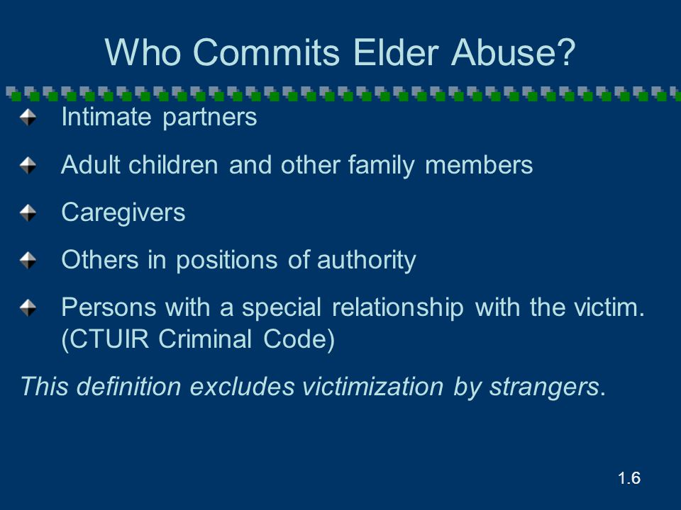 8.47 Types of Facility Settings Skilled nursing facilities Residential care facilities Assisted Living Facilities Adult family (group) homes