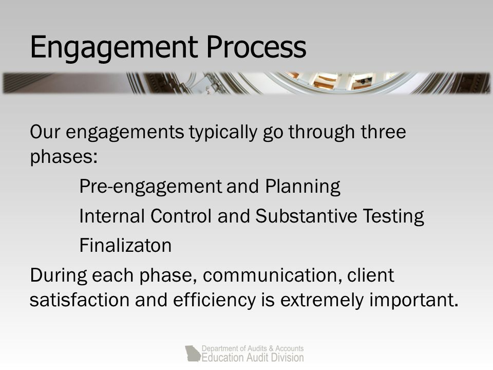 Census Data Testing Approach Plan auditor select a representative group of employers each year on a rotating basis for testing of underlying payroll records of employees If not feasible for plan auditor to perform site visits to directly test census data at each employer, the employer auditor can perform the testing and issue an attestation report.
