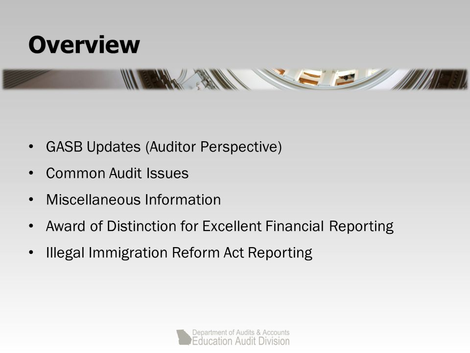 GASB 65 Items Previously Reported as Assets and Liabilities