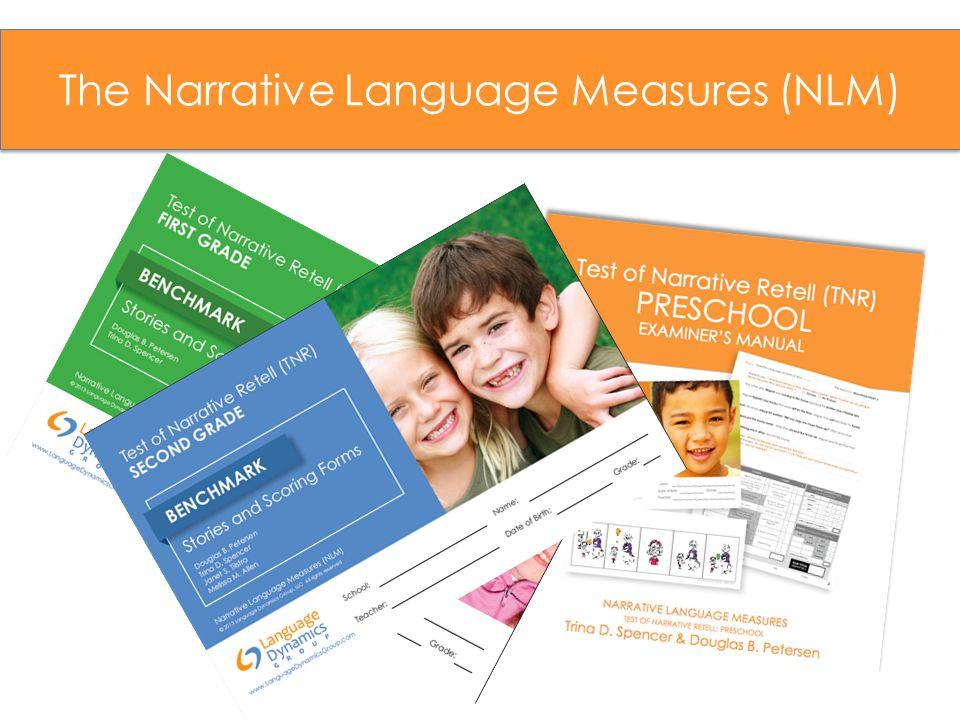 The Narrative Language Measures (NLM)