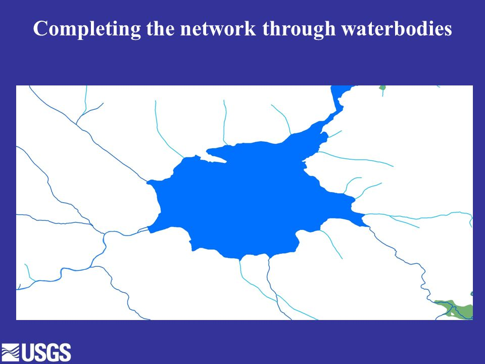Completing the network through waterbodies
