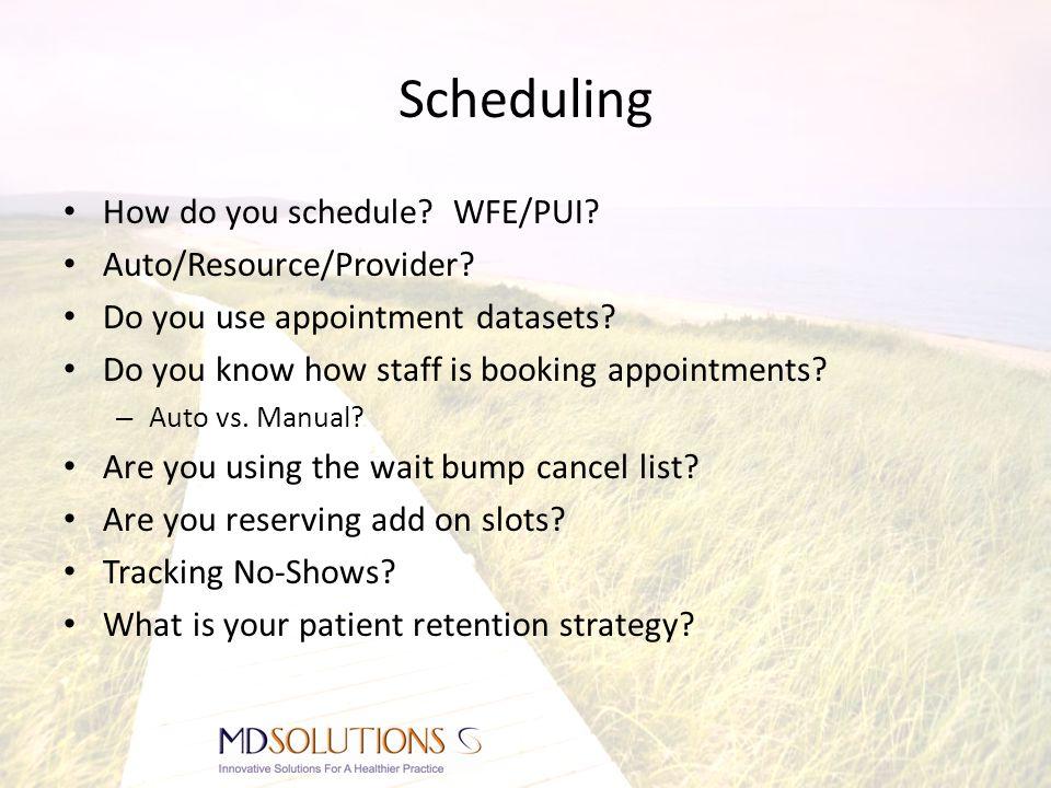 Pre-Visit Preparation Check patient eligibility prior to patient visit.