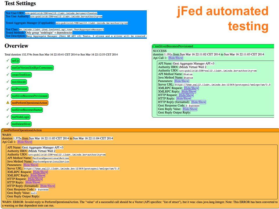10 jFed automated testing