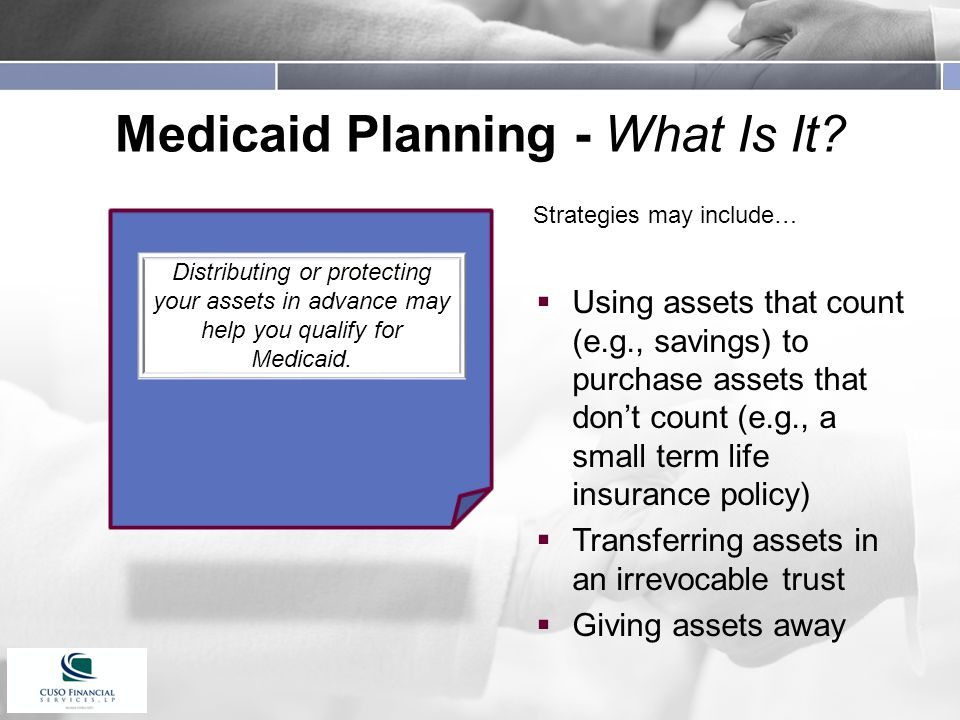 Medicaid Planning - What Is It.