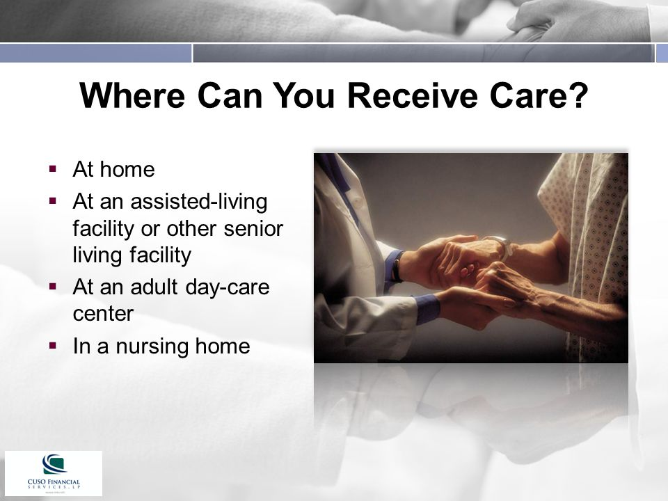 Where Can You Receive Care.