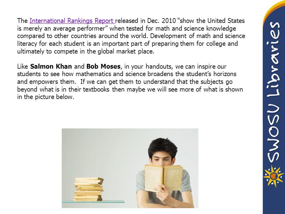 SWOSU Libraries Homepage: http://www.swosu.edu/library/http://www.swosu.edu/library/ Books Articles