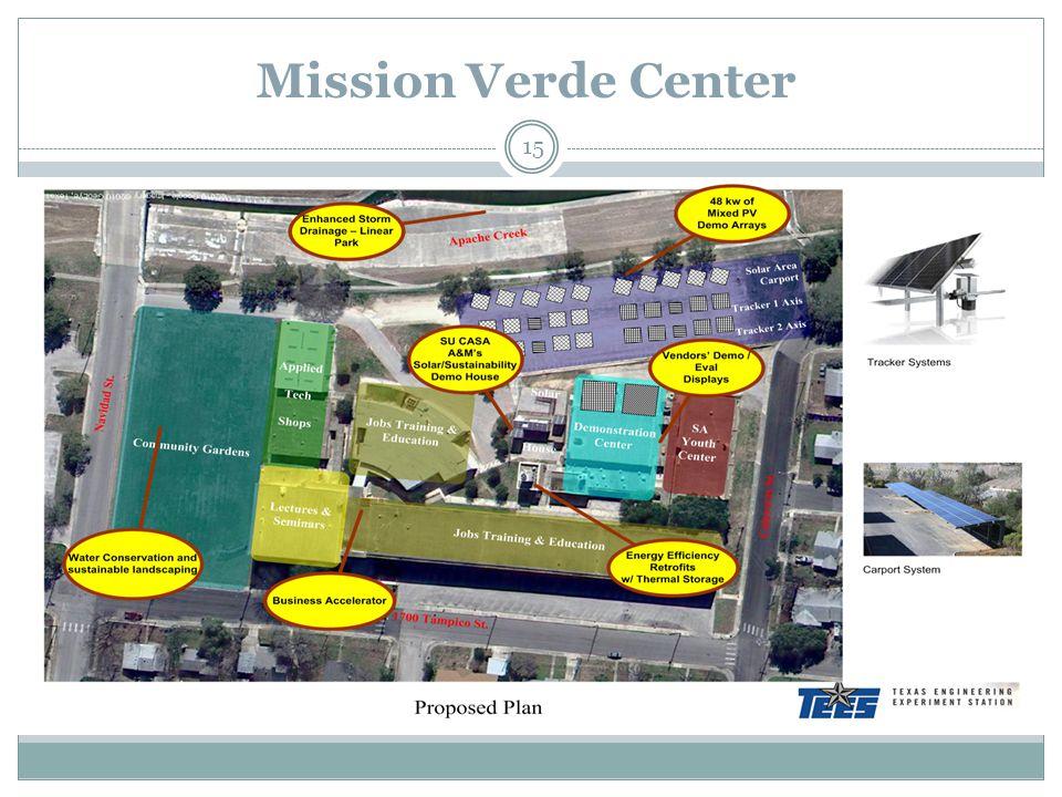 15 Mission Verde Center