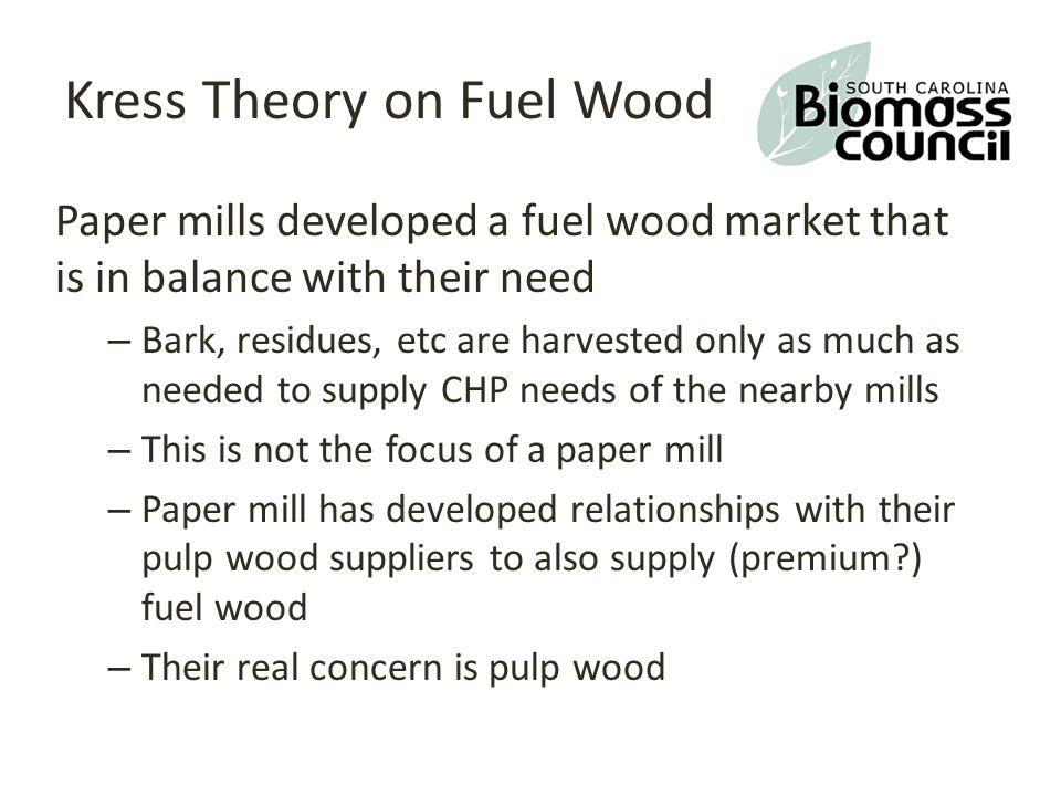 Biomass /Fuel wood users