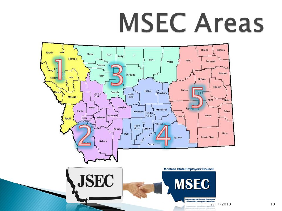 MSEC Areas 2/17/2010 10