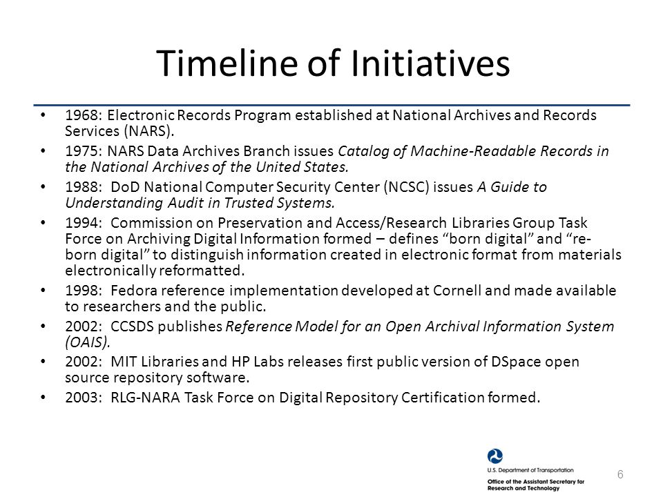 CCSDS Audit and Certification of Trustworthy Digital Archives.