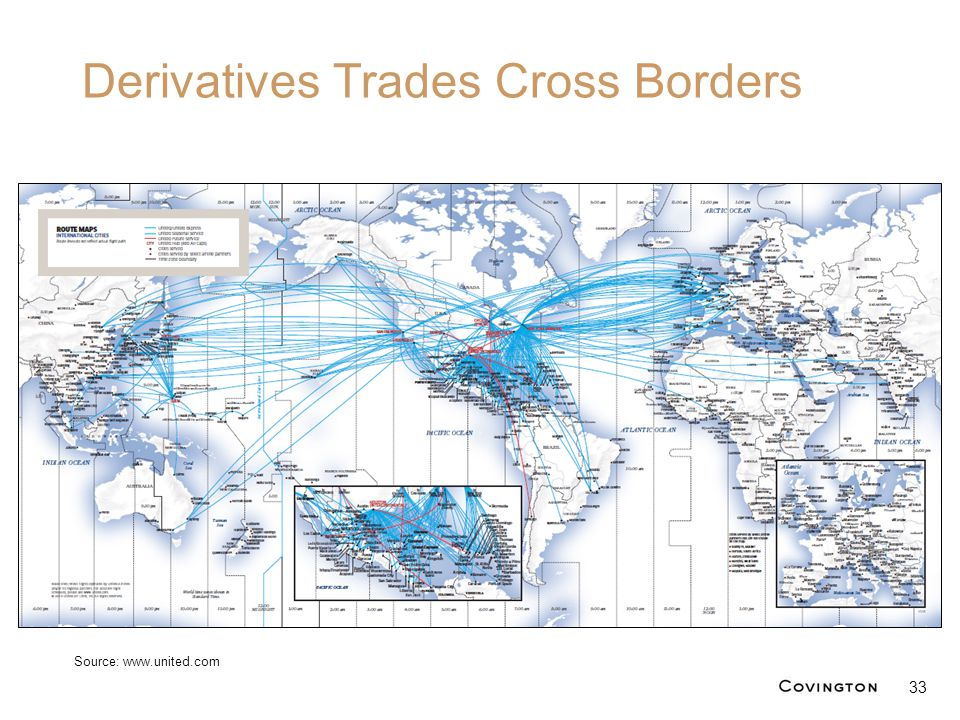 Derivatives Trades Cross Borders 33 Source: www.united.com