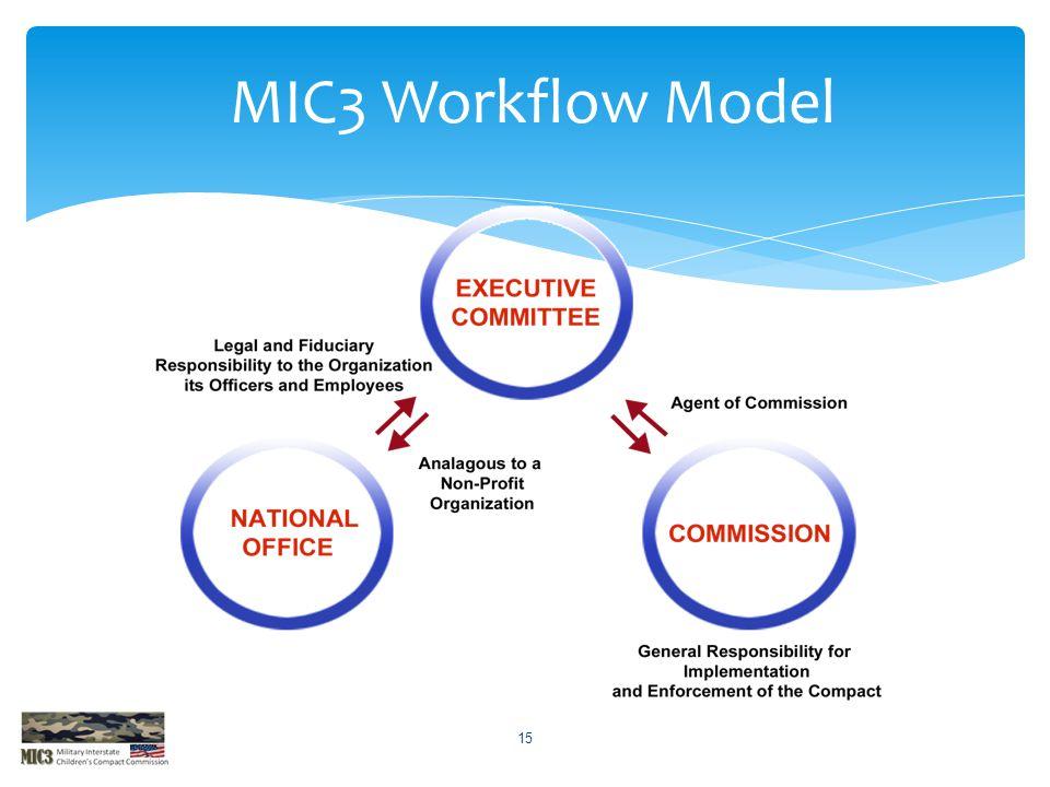 15 MIC3 Workflow Model