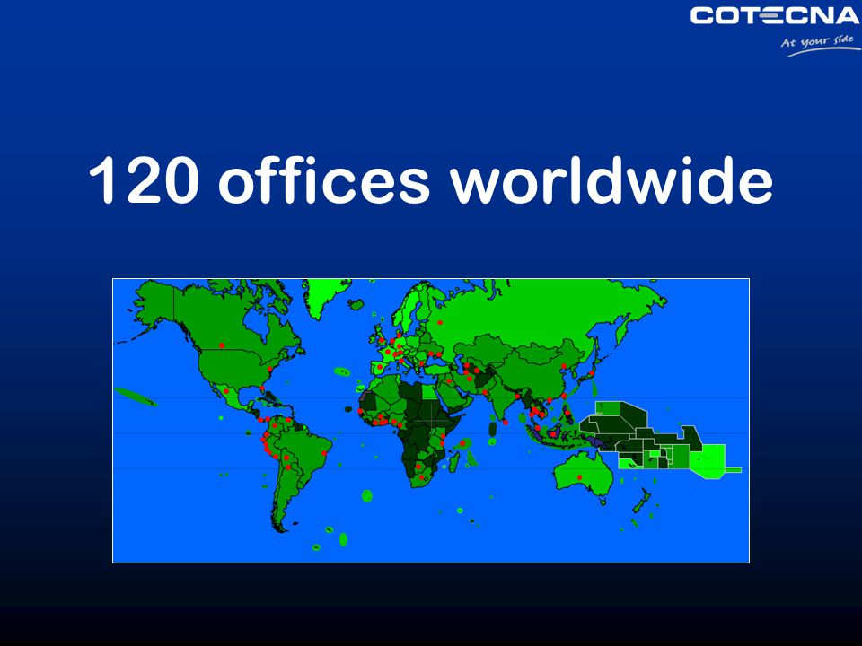 120 offices worldwide