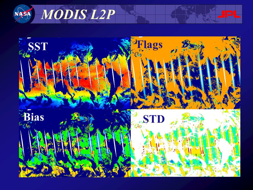 MODIS L2P SST Bias Flags STD
