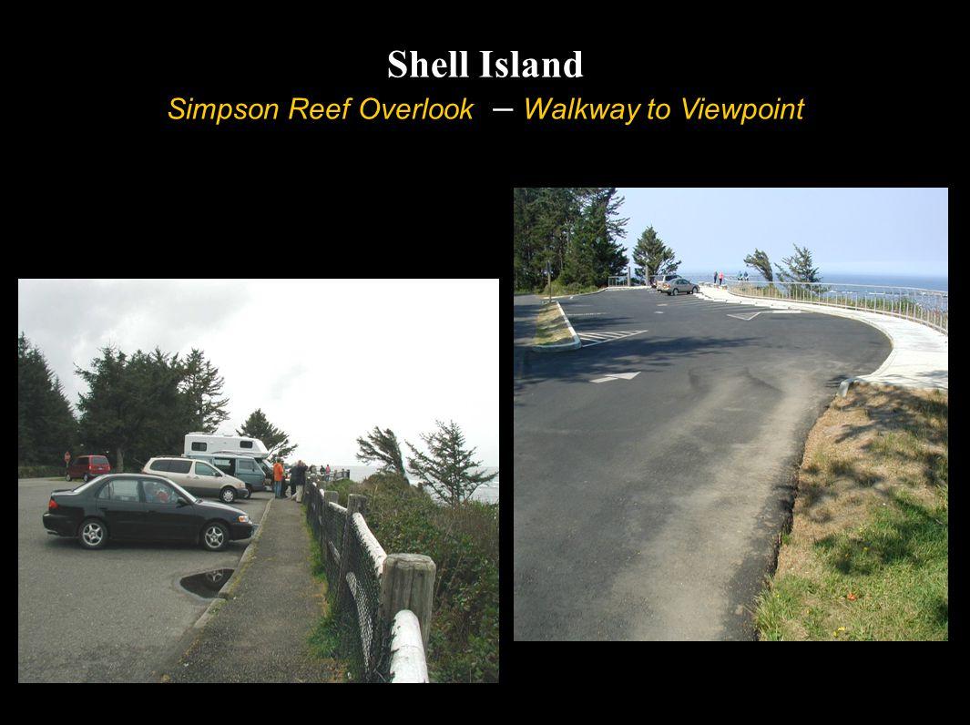 Shell Island Simpson Reef Overlook – Walkway to Viewpoint