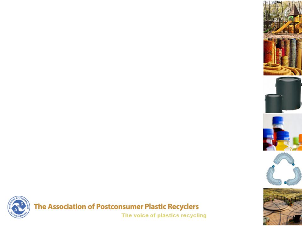 The voice of plastics recycling