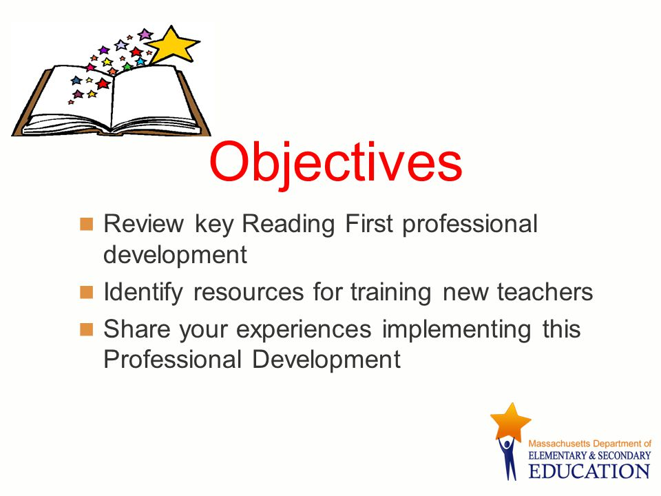 Developing Oral Language Skills Reading First MA Department of Education November 15, 2006