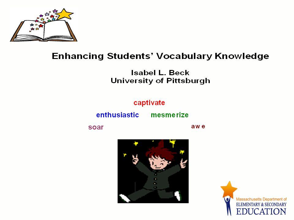 Resource Text Isabel L.Beck, Margaret G. McKeown, and Linda Kucan (2002).
