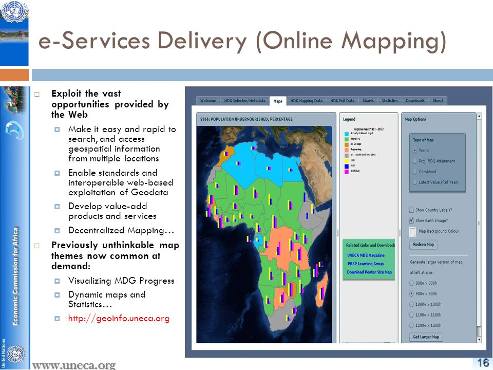 1717 www.uneca.org Meeting of African ICT Ministers, August 2010  3 rd ordinary session of the African Union ICT Ministers, held in Abuja, Nigeria, from 6-7 August 2010, adopted The Abuja 2010 Declaration, which requests the AU Commission to, enter alia, :  Conduct a feasibility study on the establishment of the African Space Agency and develop an African Space Policy in cooperation with the Regional Economic Communities (RECs), the United Nations Economic Commission for Africa (UNECA) and the International Telecommunications Union (ITU).