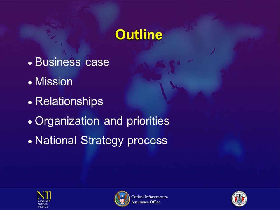 Areas of Common Interest  Interdependency issues  Research and development  Education and workforce development  Information sharing  International issues  Public policy and legal/legislative barriers