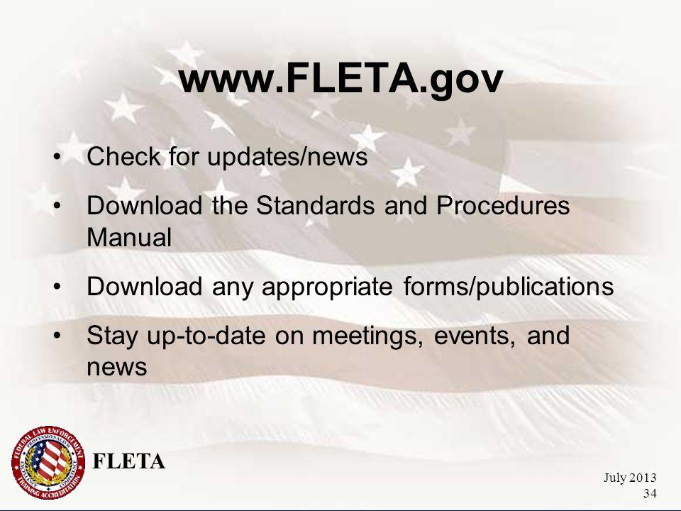 FLETA July 2013 35 Questions.
