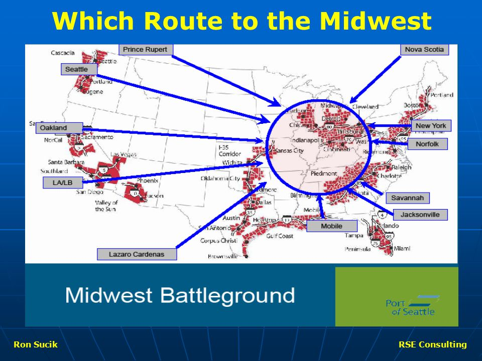 Which Route to the Midwest Ron SucikRSE Consulting