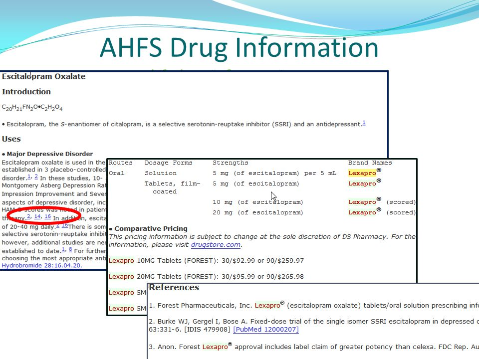 AHFS Drug Information ahfsdruginformation.com