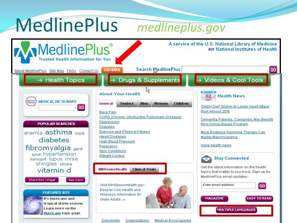 MedlinePlus medlineplus.gov