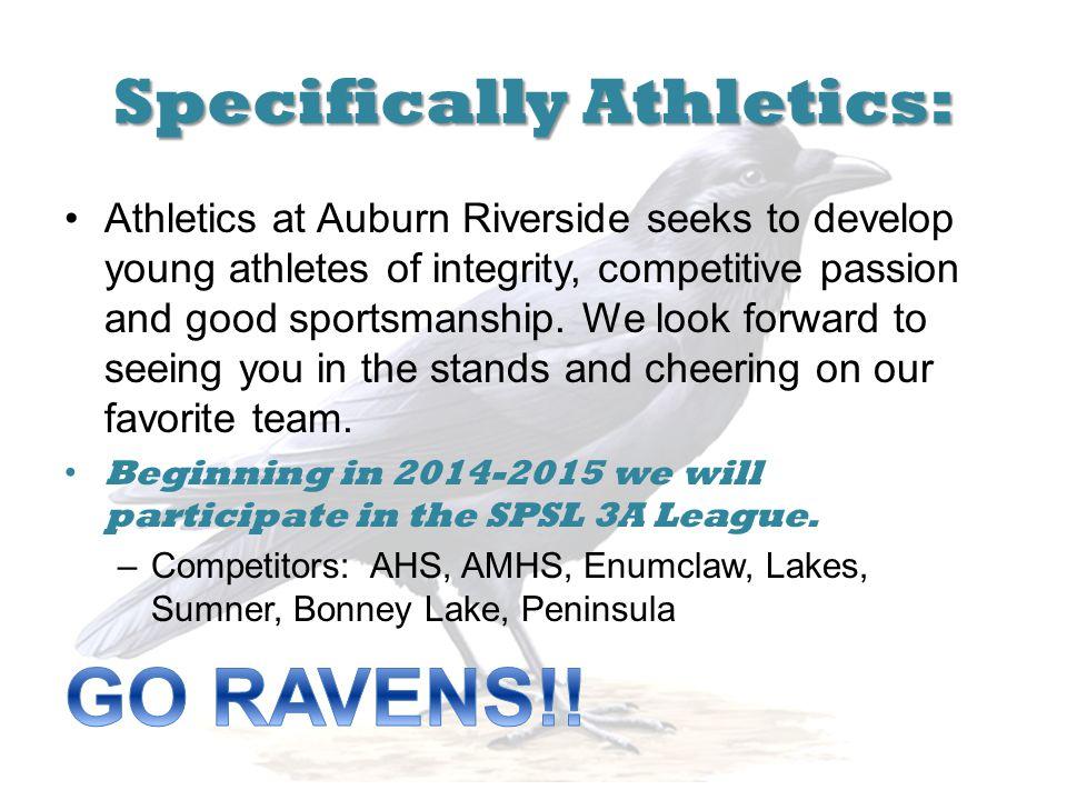 Specifically Athletics: