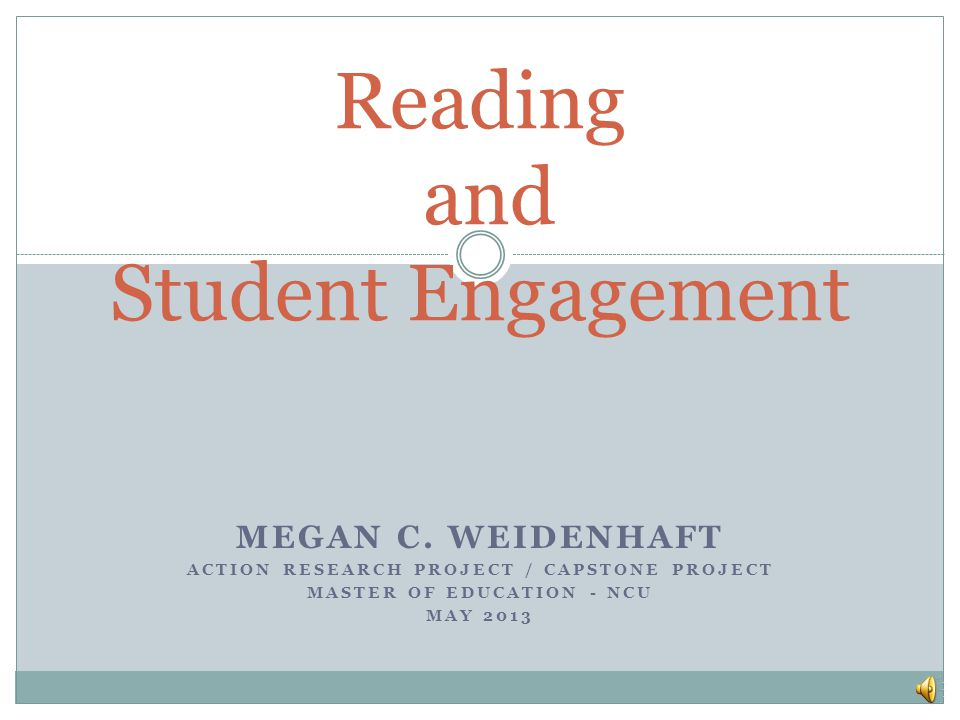 Results from Study The study shows that the use of even a short 3-5 minute brain break and the use of movement does increase engagement and participation in both whole group and small group reading instruction It also shows that there are times when student(s) are off task and not engaged during reading.