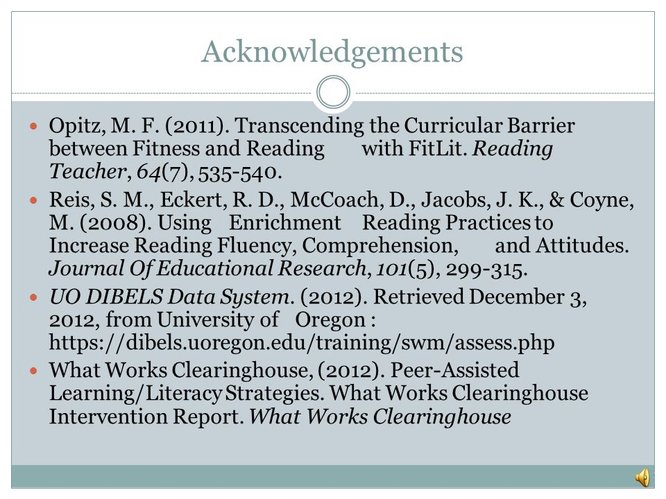 Acknowledgements Demski, J. (2009).The WOW Factor.