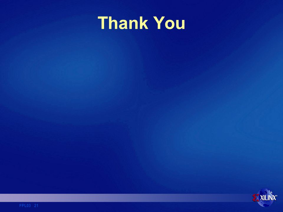 FPL03 21 Thank You