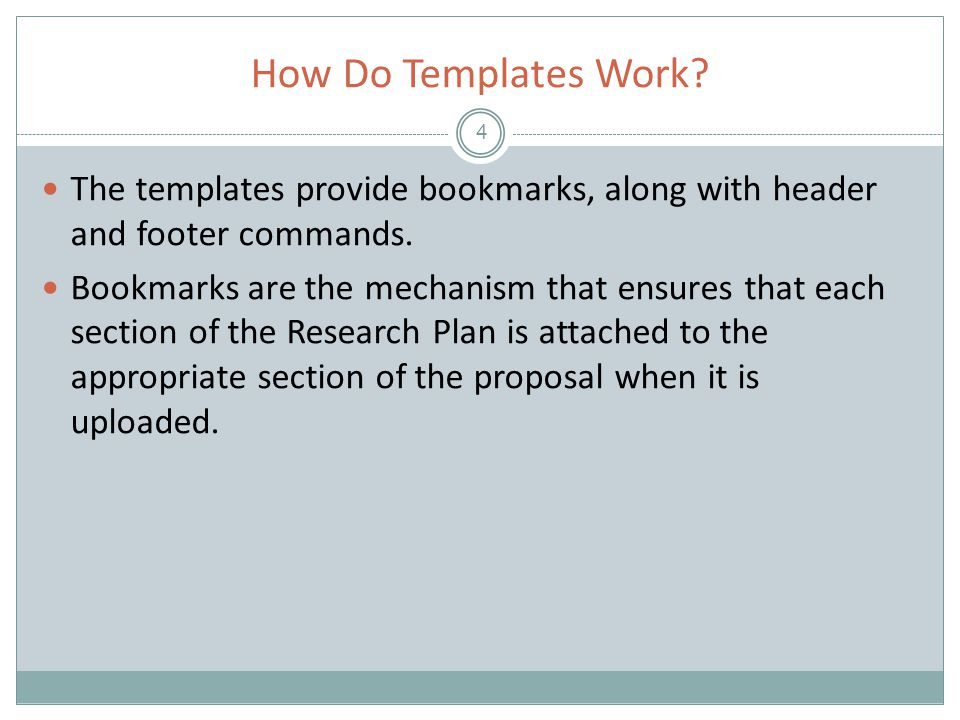 Working with an Existing Research Plan 25 Once the template has been added, click OK.
