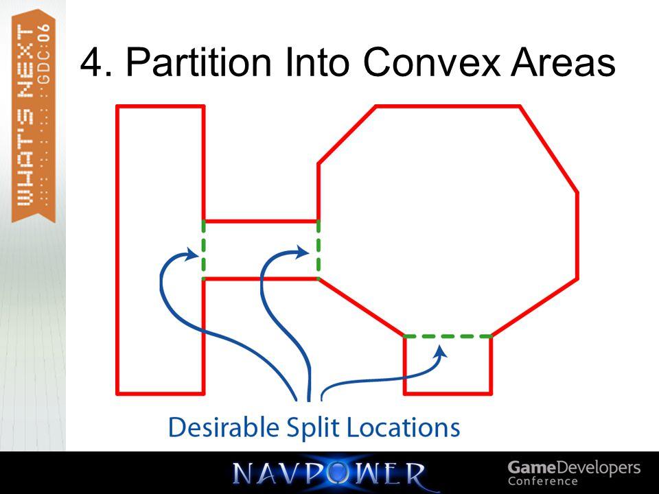 4. Partition Into Convex Areas