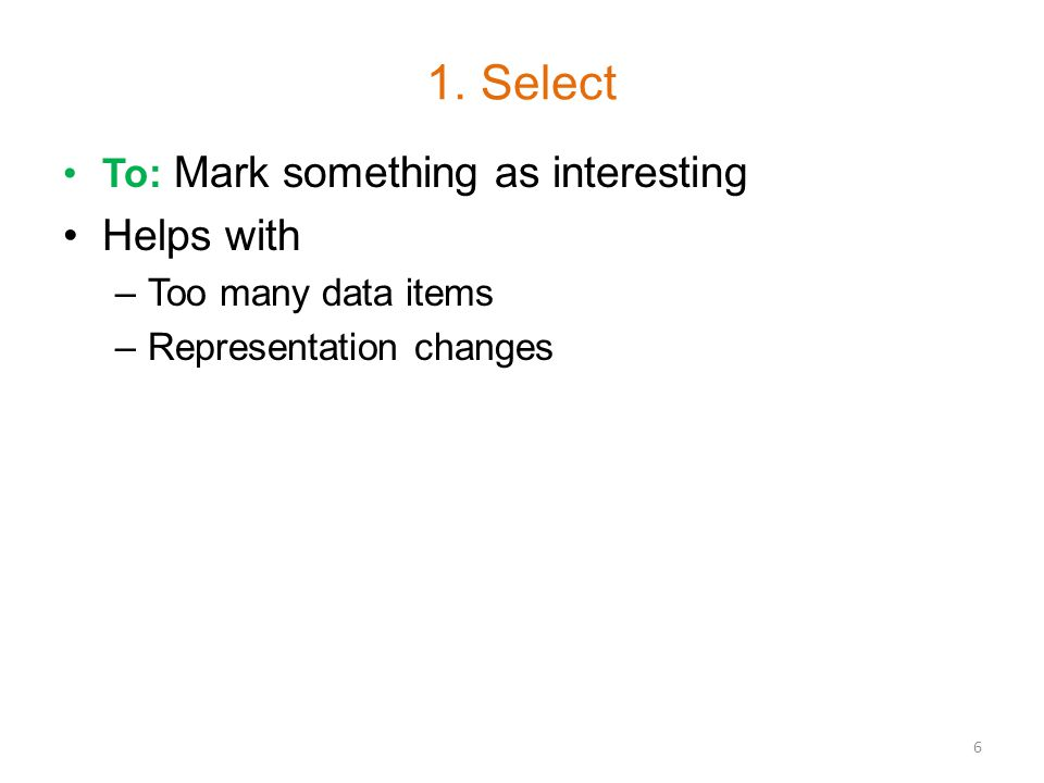 1. Select - Example 7 Placemarks for UofC