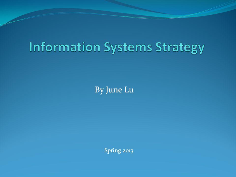 By June Lu Spring 2013