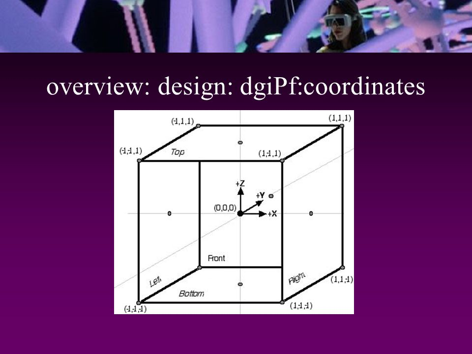 overview: design: dgiPf:coordinates