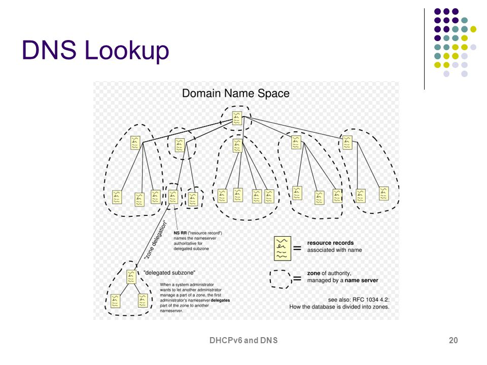 DHCPv6 and DNS20 DNS Lookup