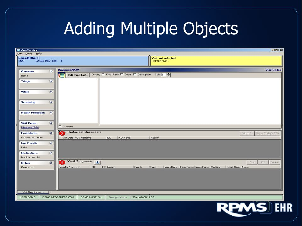 Adding Multiple Objects